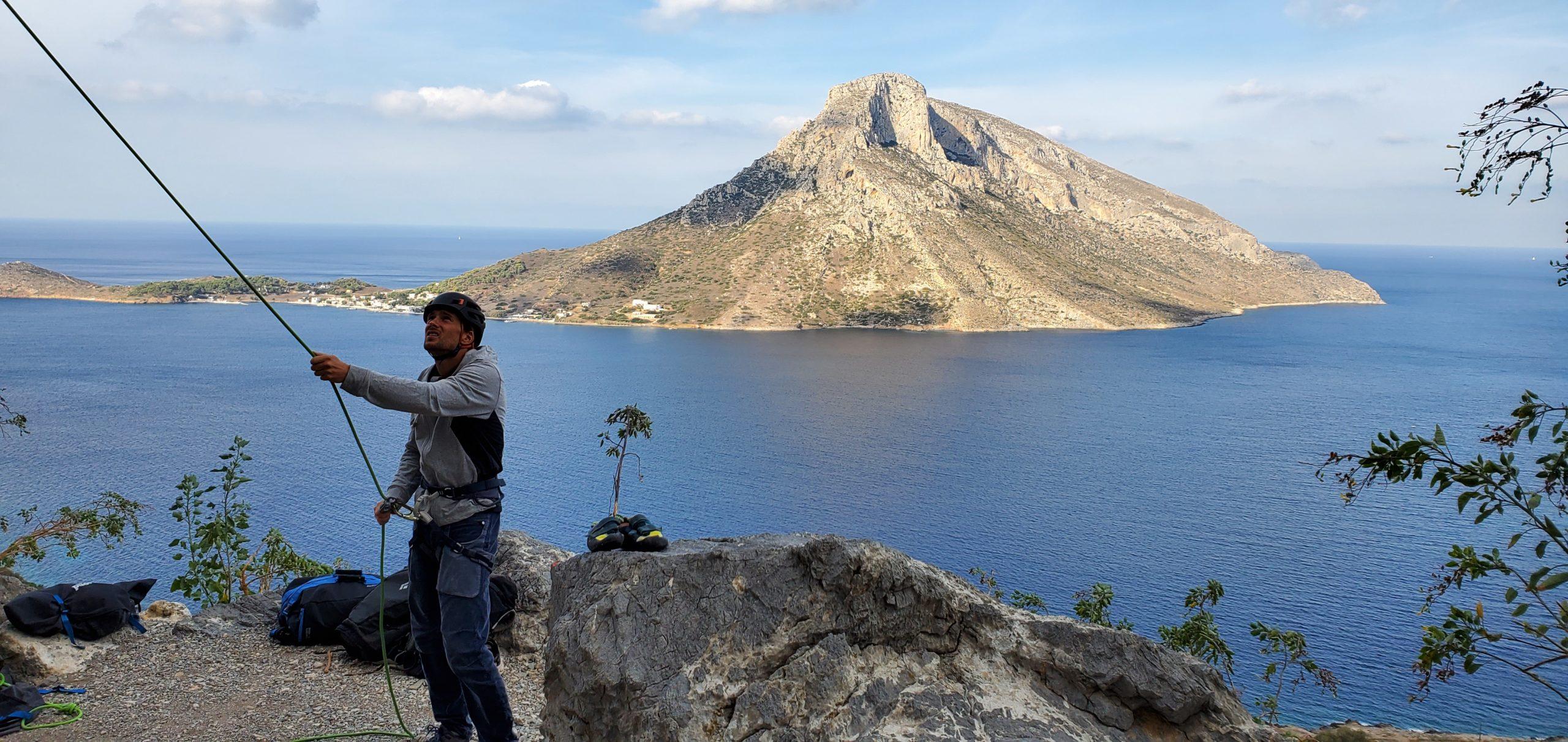 stage escalade Kalymnos