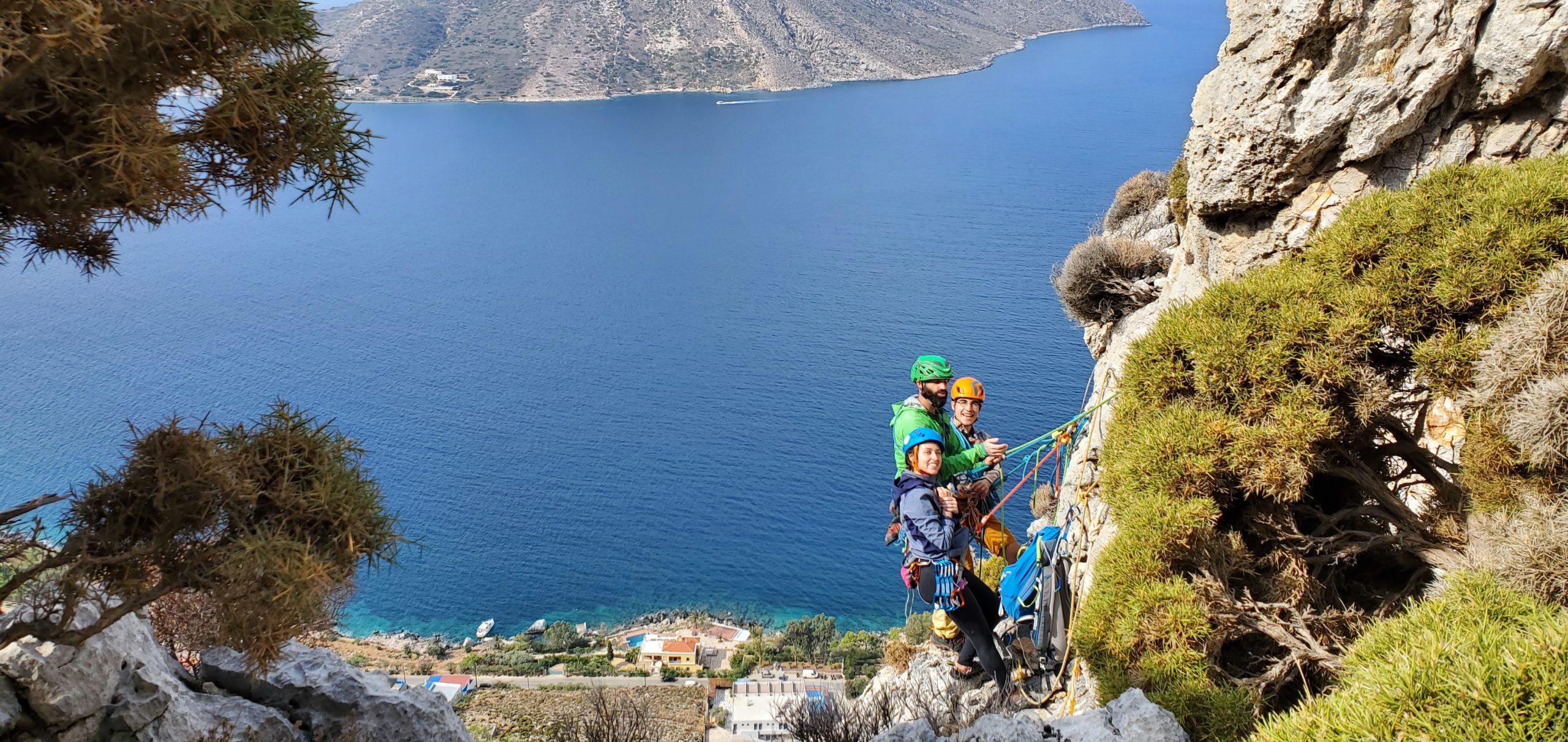 stage escalade iles grecque