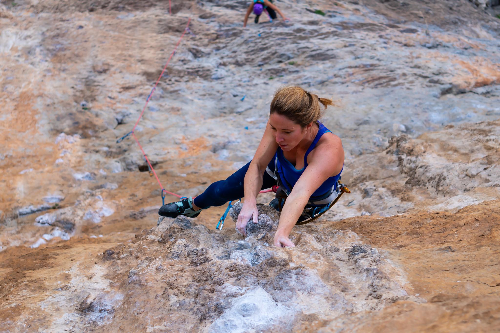 escalade falaise kalymnos